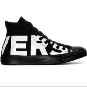 CONVERSE | Black high top CTAS sneakers